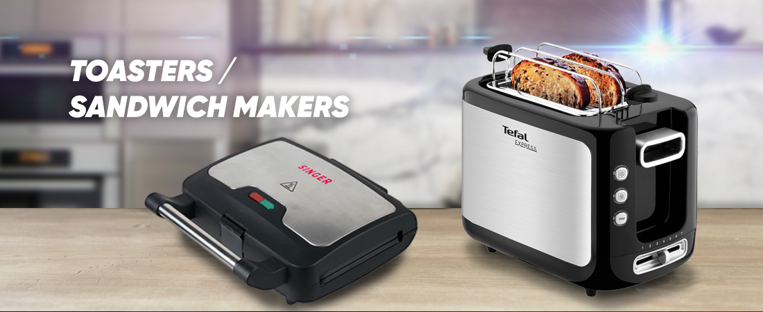 Toasters / Sandwich Makers