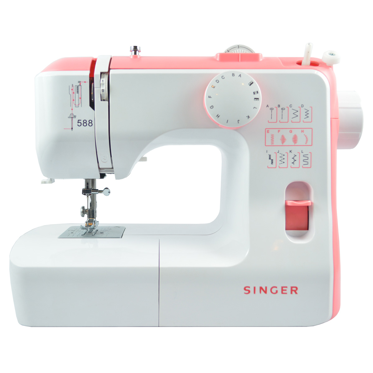 Buy Singer Sewing Machine Portable, 12 Built In Stitches ...