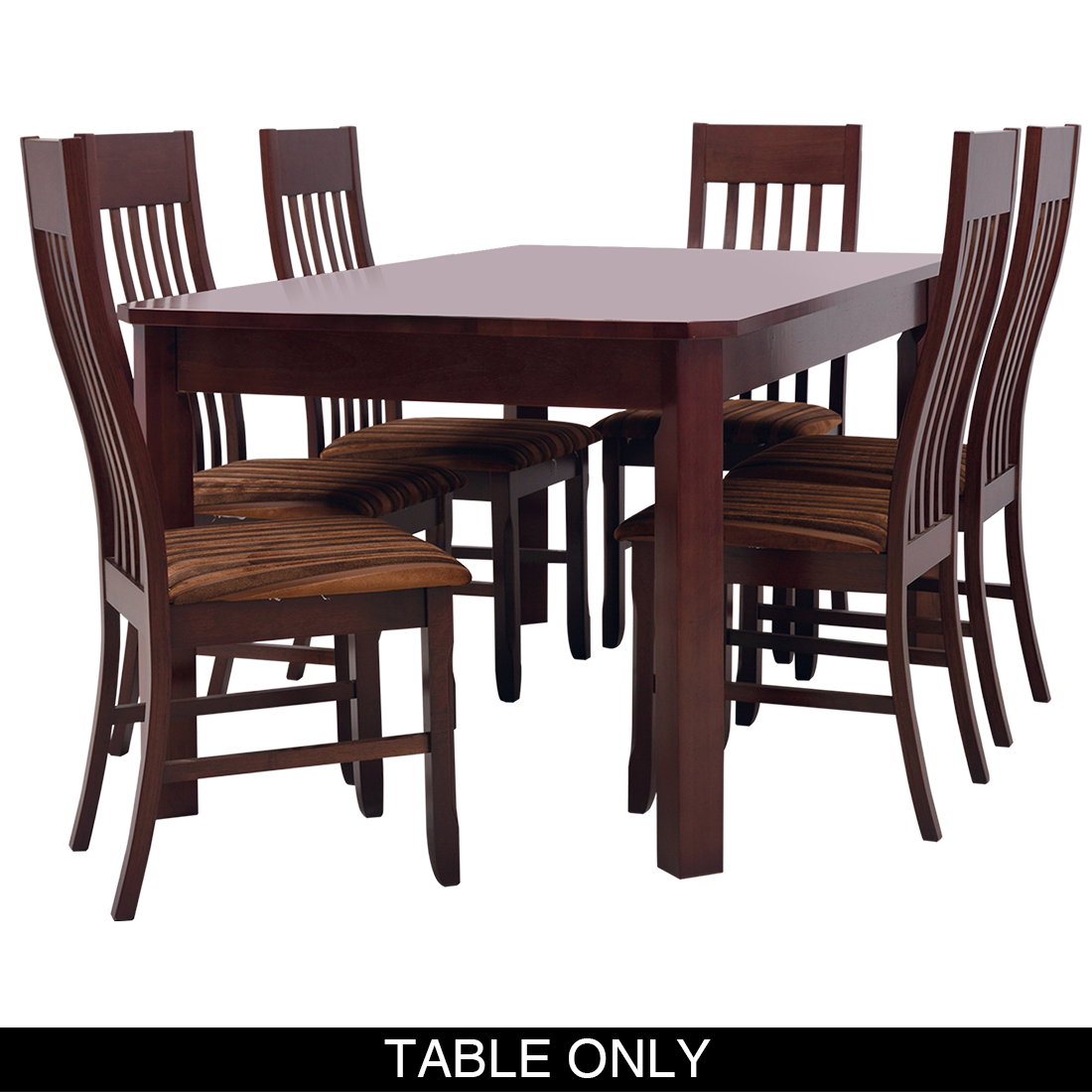 Harper Dining Room Suit - 6 Seater Table Only
