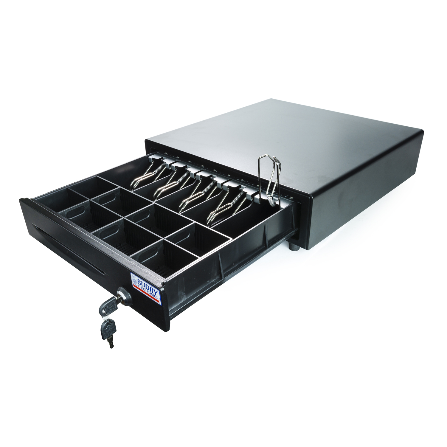 Budry Cash Drawer 5 Notes And Coins Trays