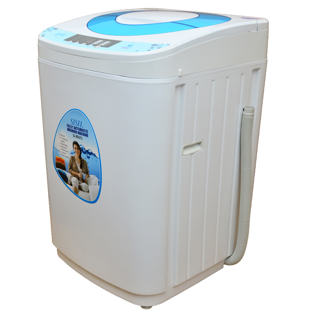 Buy Sisil Washing Machine Fully Auto Top Load 7.5K Online ...