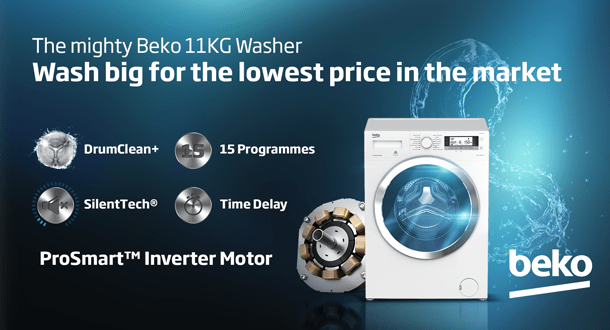 Beko Washing Machine - B-WTV11512XS0