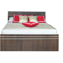 Silvery Queen Size Bed Only
