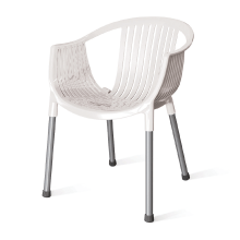 Mint Plastic Chair White Colour