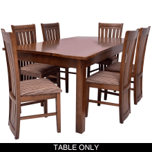 Clayton Dining Room Suit - 6 Seater Table Only