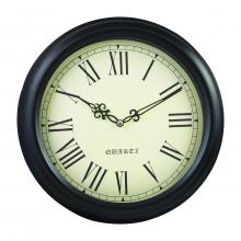 "Singer 12"" Metal Wall Clock"