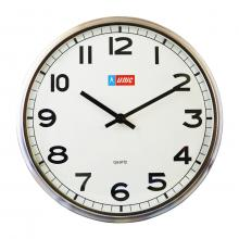 "Unic 12.3"" Metal Wall Clock"