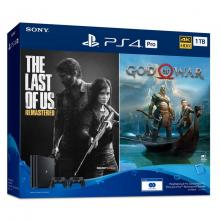 Sony PlayStation4 Pro Bundle (1TB) - PS4 God Of War, Last Of Us