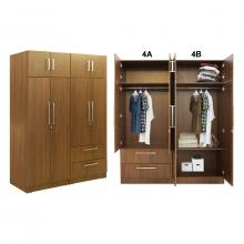 Oregon Wardrobe - WD4B - Without Inner Drawer