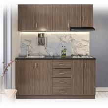 6.5ft Easy Kitchen Pantry With Granite Top