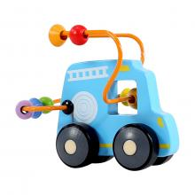 Bus Roller Bead Cart Educational Toy