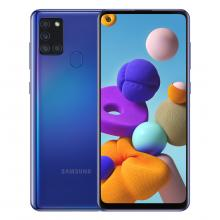 Samsung Galaxy A21S - (4GB+64GB) (Blue)