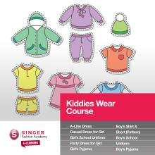 Singer Fashion Academy Kiddies Wear Course