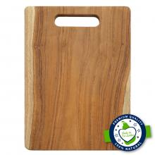 Smart Chef Vegetable Wooden Cutting Board WCB01, 10 x 14