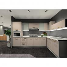 Singer Signature Kitchen Pantry - L Shaped Kitchen With Tall Unit, Corian