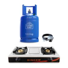 12.5kg Cylinder + Accessory Pack + Gas Cooker (STT-KHT009)
