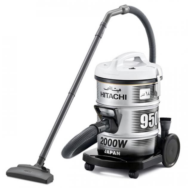 Hitachi Vacuum Cleaner 2000W 18L Grey