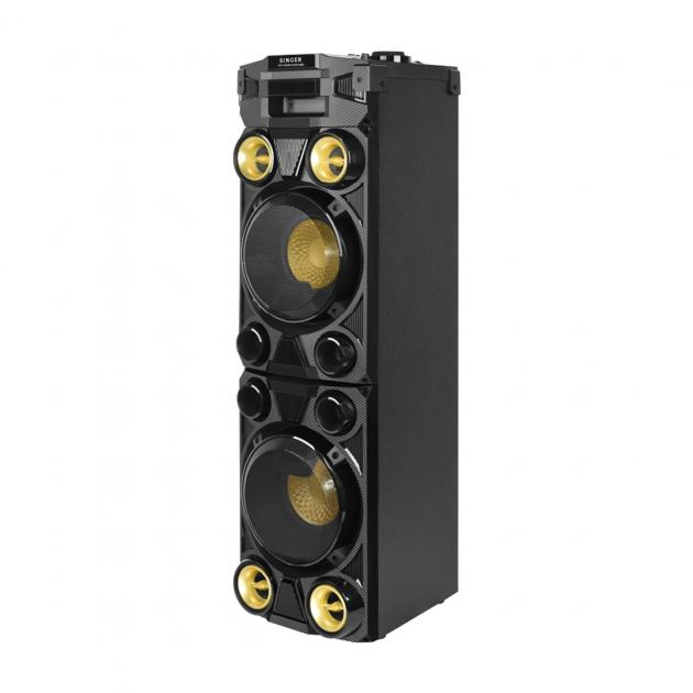 Singer Active Speaker System - 3000 PMPO, Blutooth