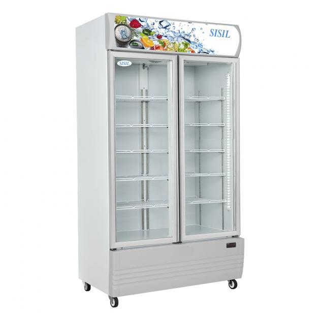 Sisil Bottle Cooler 2 Doors 885L