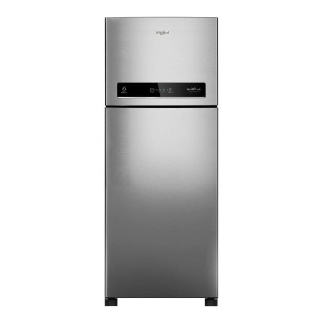 Whirlpool IntelliFresh Refrigerator With Convertible Freezer 5-In-1 Modes, 360 L, Double Door