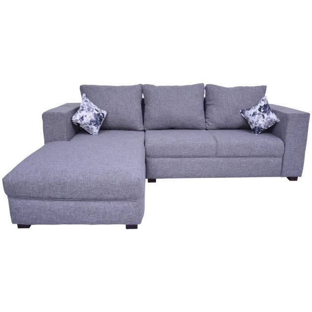 Winter Sectional Sofa - Grey Colour Fabric