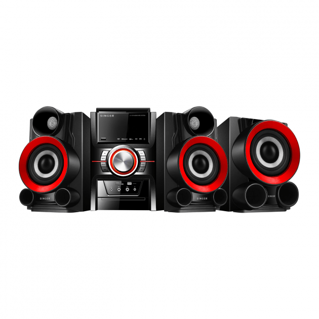 Singer Audio Hi Fi System With Bluetooth 100W