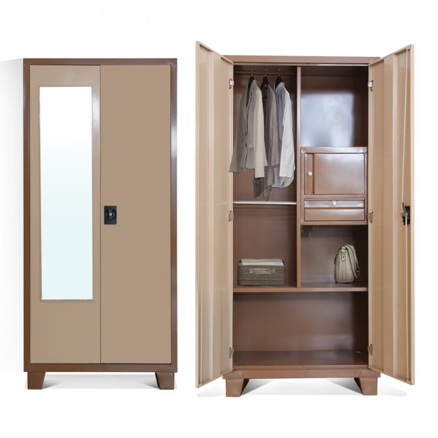 Merit Steel Wardrobe