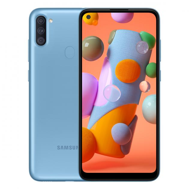 Samsung Galaxy A11 - (2GB+32GB) (Blue)