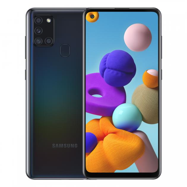 Samsung Galaxy A21S - (6GB+64GB) (Black)