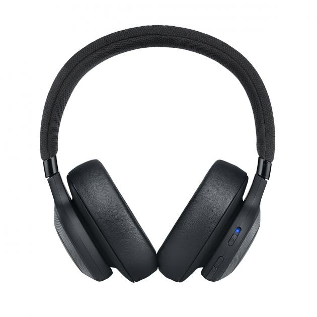 JBL E65BT Wireless Over-Ear Noise-Cancelling Headphone (Black)