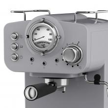 Swan Retro Pump Espresso Coffee Machine 1100W (Grey)
